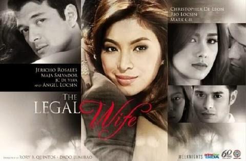The Legal Wife featuring Angel Locsin, Jericho Rosales, Maja Salvador and JC de Vera