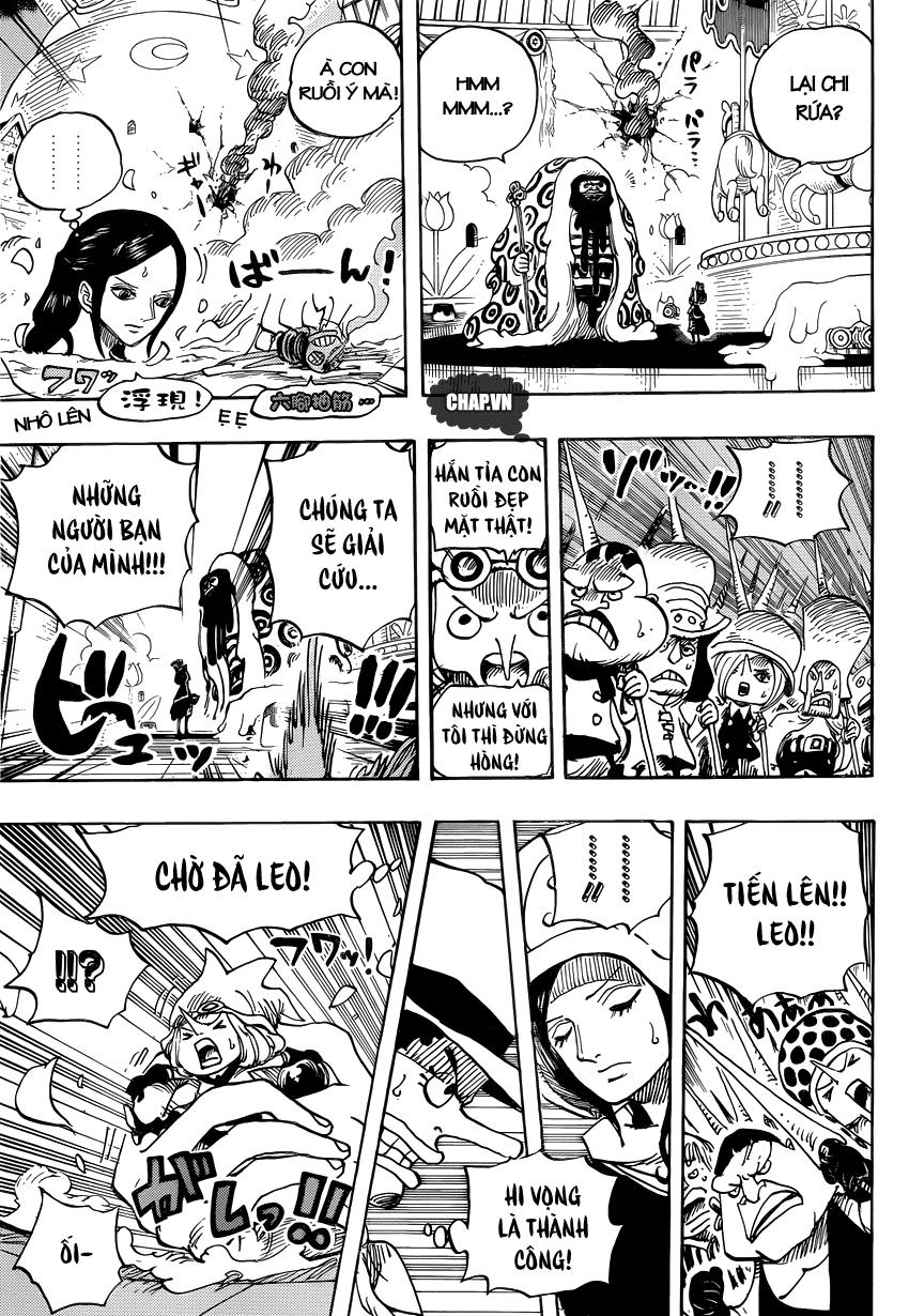 One Piece Chapter 738: Binh đoàn Trebol: Chỉ huy đặc biệt Sugar 003