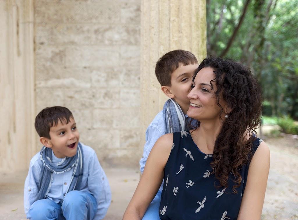 Fotografía de familia Málaga