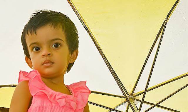 umbrella and Anisha