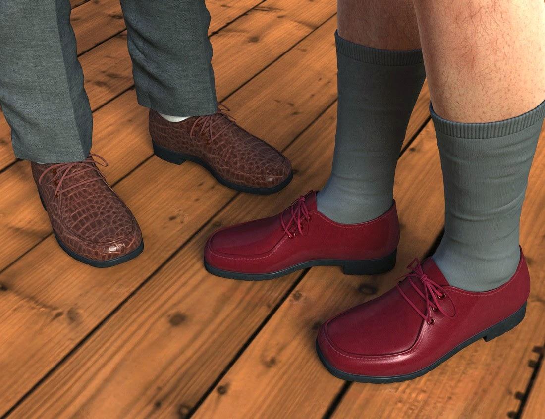 Mocassins à lacets - Chaussettes pour la Genèse 2 Homme
