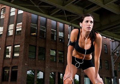 mujer deportista: