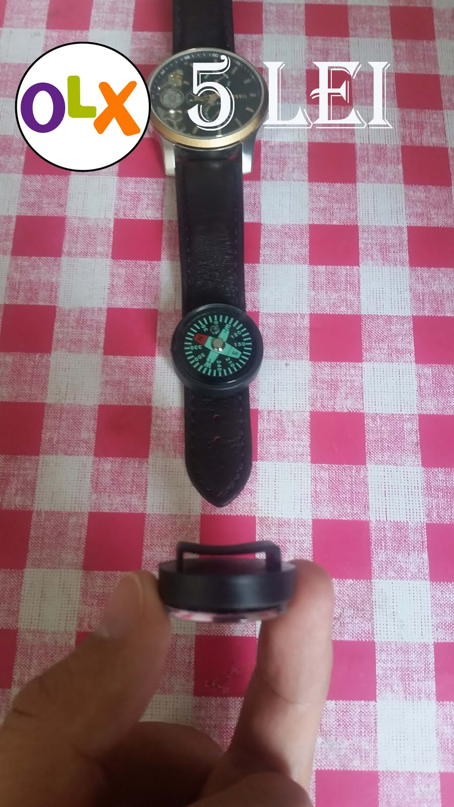 Busola ceas - 5 lei