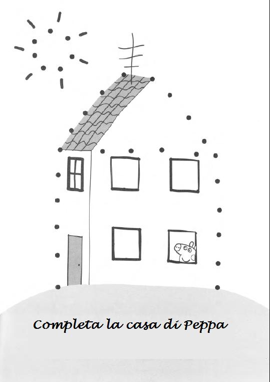Schede ed attivit didattiche del maestro fabio per la - Colorare la casa ...