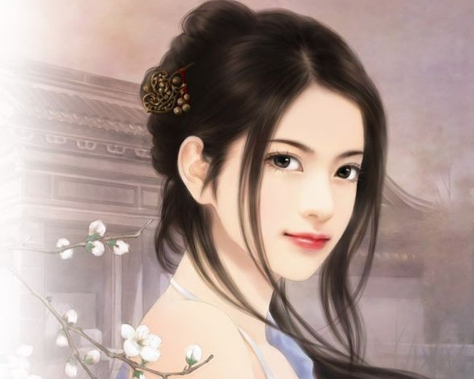 anime magazines chinese girl paintings   14