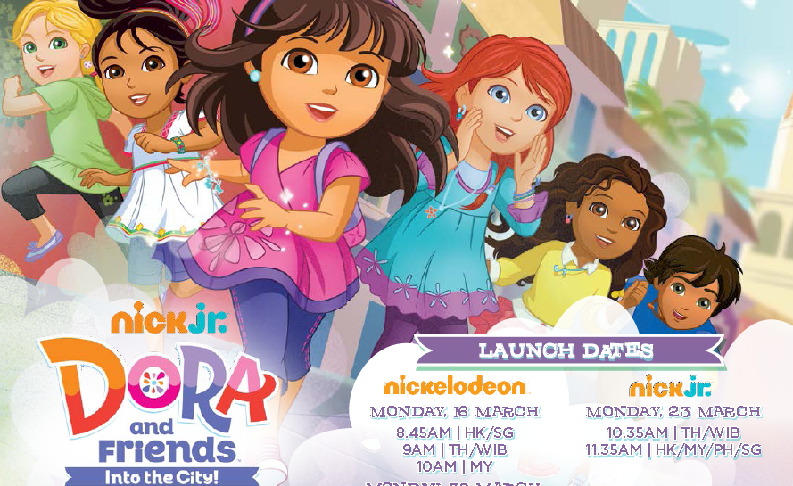get ready for big adventures with dora and friends into