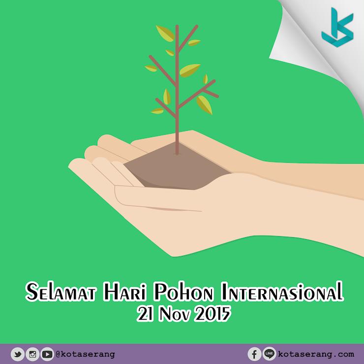 Gambar Vector - Hari Pohon Internasional 21 November 2015