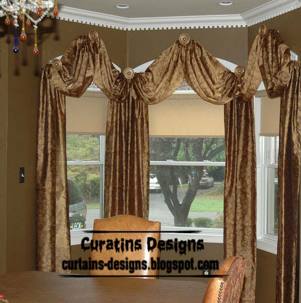 Top luxury curtains designs and luxury windows treatments Window curtains design ideas