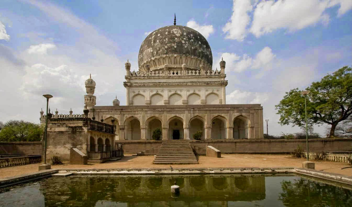 One of the most prominent tombs among the prominent 7 Qutub Shahi tombs