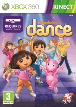 Nickelodeon Dance 2   XBOX 360 Nickelodeon+Dance+2