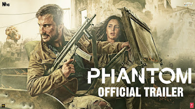 Phantom Official Trailer Saif Ali Khan & Katrina Kaif mp3 download video hd mp4