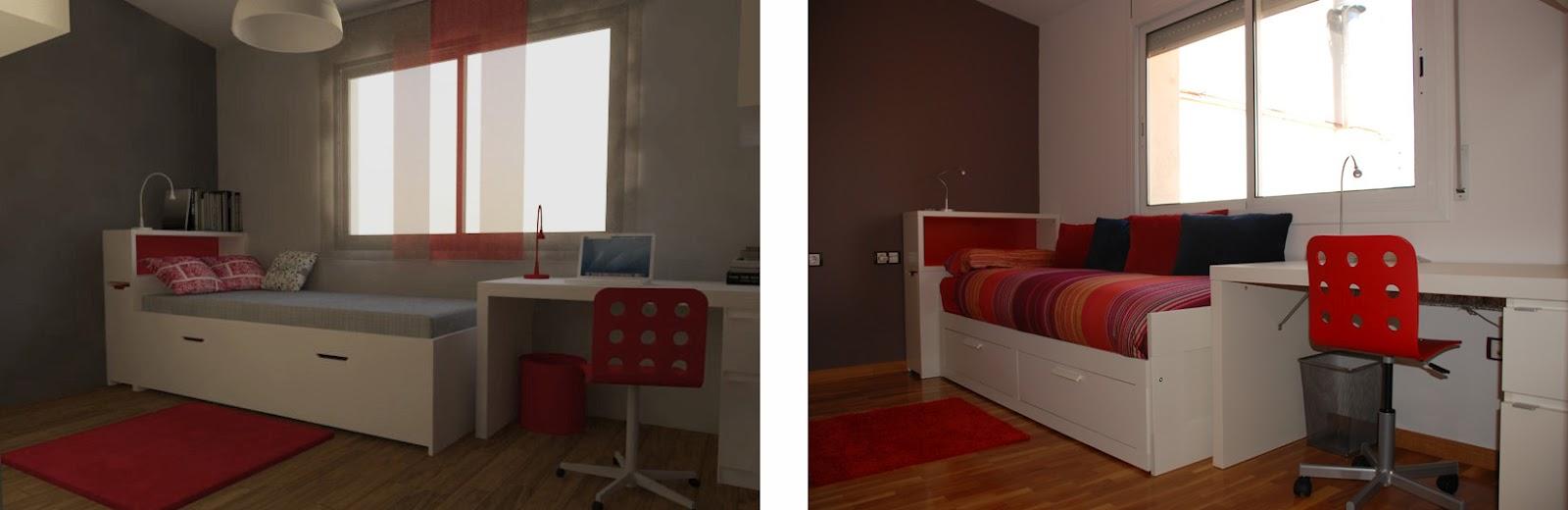Estudio de arquitectura emearq abril 2012 - Cortinas ikea habitacion ...