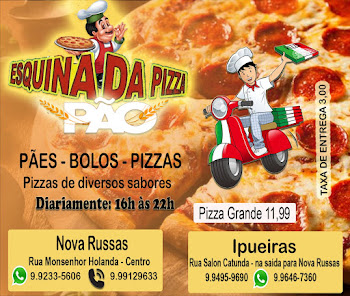Esquina do Pão/Esquina da Pizza