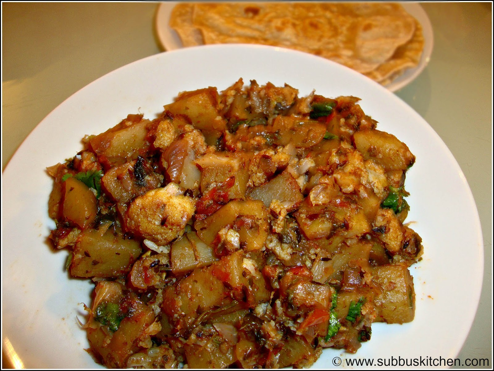 Aloo Gobi Masala Curry