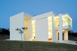 Fachadas de casas modernas fachadas de casas y casas por for Mansiones minimalistas