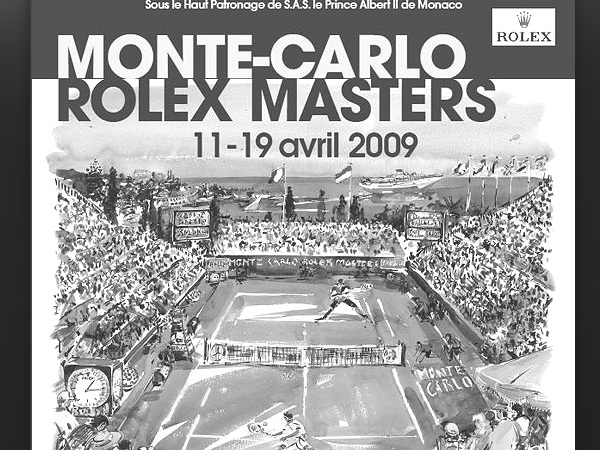 Monte-Carlo 2012 Rolex Masters Tennis TV Schedule by Country