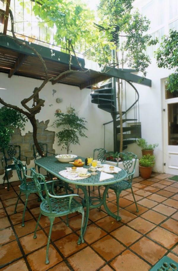 15 ideas para decorar la terraza (vistas en lonny)   guia de ...
