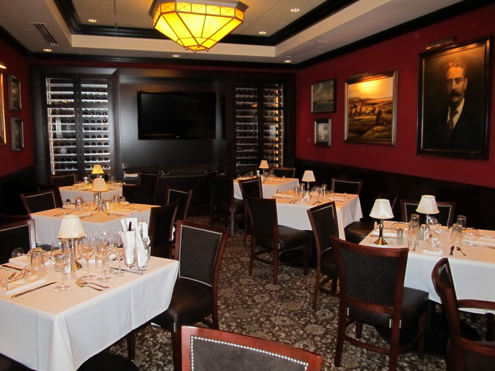 the boston foodie the new capital grille boston private dining room - Private Dining Room Boston