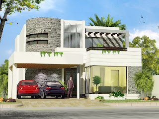 Modern Homes Beautiful Latest Exterior Homes Designs Technology