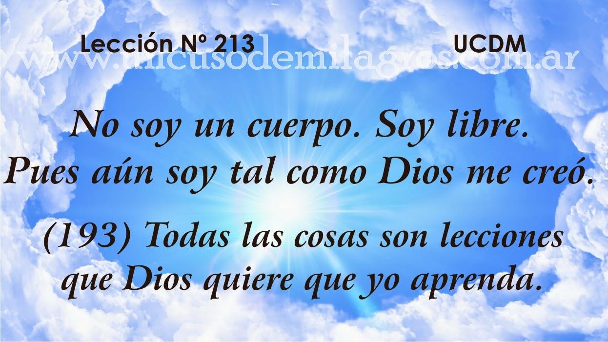 Leccion 193, Un Curso de Milagros