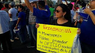 Protestas IHSS JOH