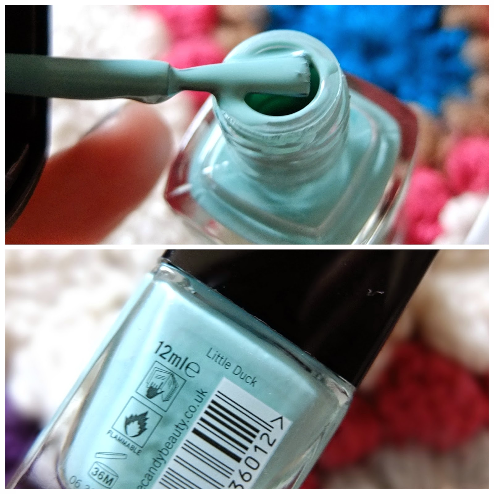 Beauty blog review of the Tanya Burr lipgloss and nail varnish range