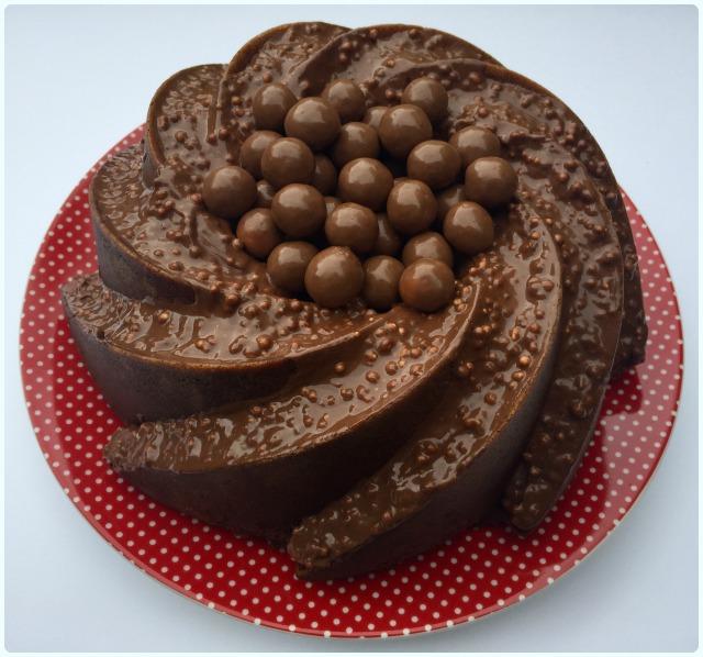 Malteaser Bundt Cake