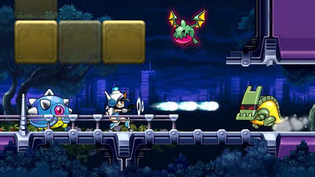 Screenshot of Wii U eShop game Mighty Switch Force! HD