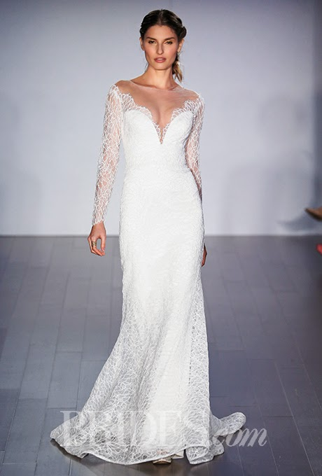 Bridal Fashion Week Fall 2015 Jim Hjelm Fall 2015 Bridal