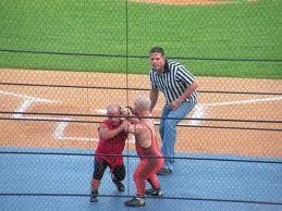 "Chapa: ""I'll wrestle for $$$."""