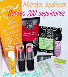 "Sorteo en el blog ""Marilyn Bedroom"""