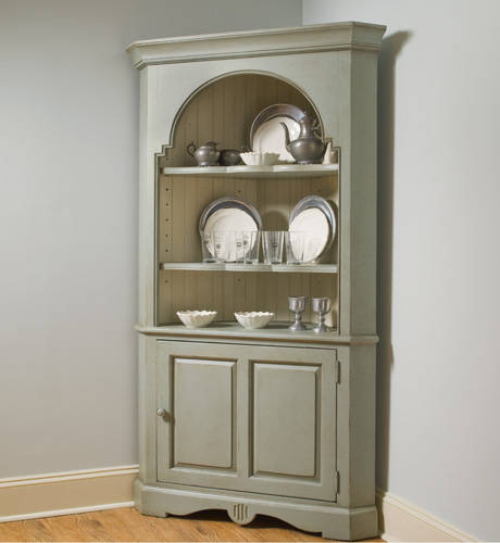 Furniture Dining Room Corner Cupboard Hutch