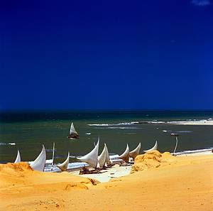 Fotos da Canoa Quebrada no Ceará