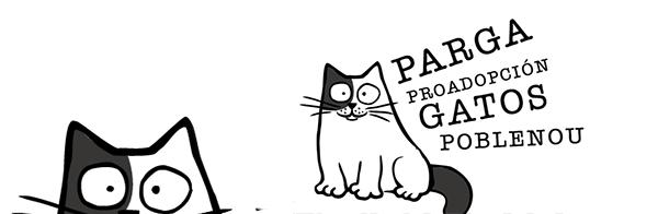 Parga - gatos de Poblenou