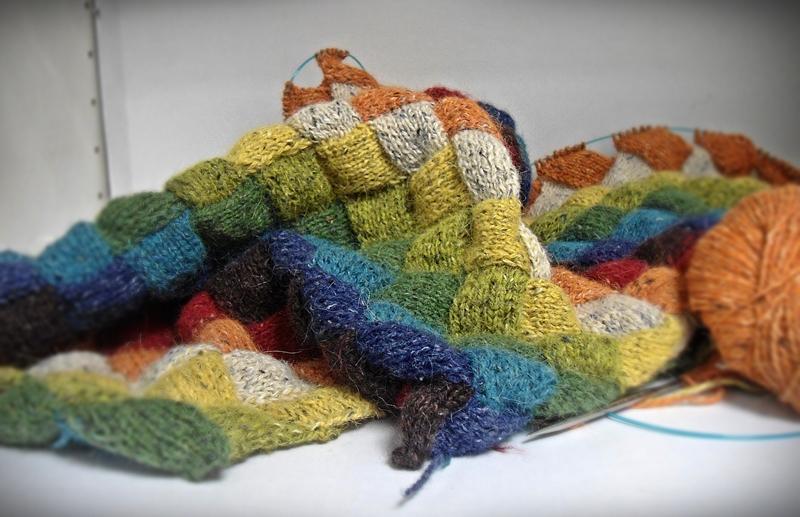 Schöner stricken mit stricxs: Felted tweed