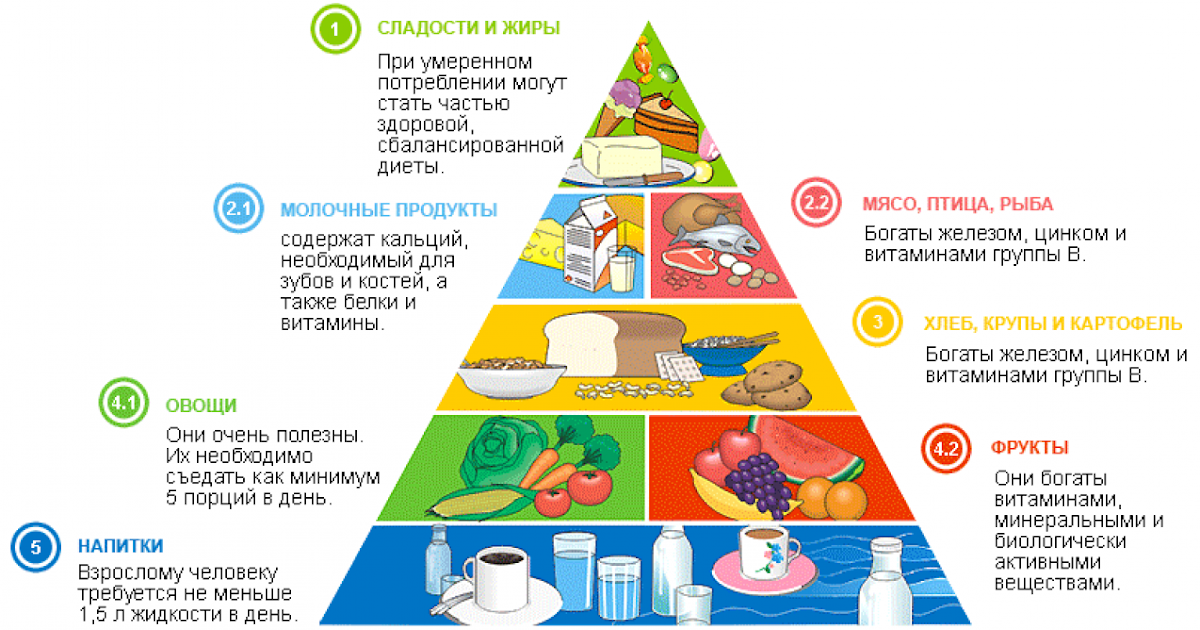 здоровое рациональное питание