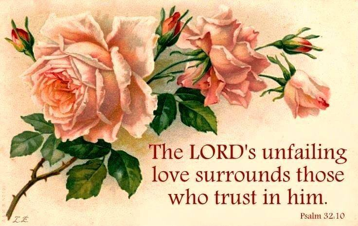 The Lord's unfailing love..