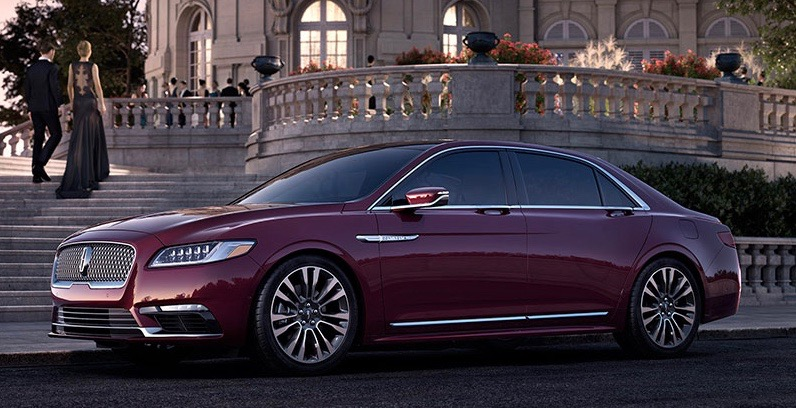 car style critic the forthcoming 2017 lincoln continental. Black Bedroom Furniture Sets. Home Design Ideas