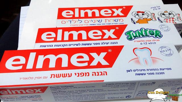 elmex's toothpaste