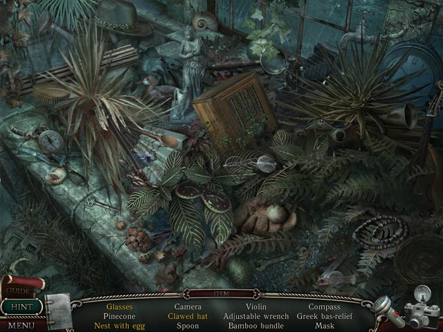Shiver 2: Poltergeist Collector's Edition. Hidden Object scene.