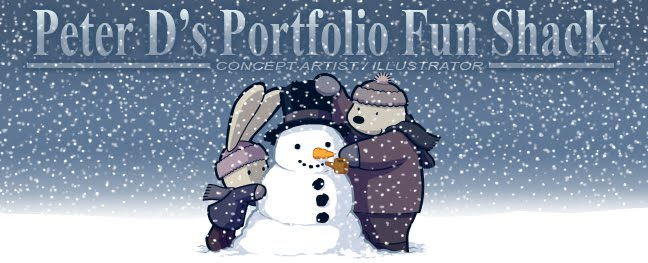 Peter D's Portfolio Fun Shack