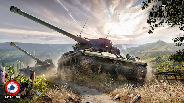 amx 13 90 world of tanks wallpapers HD