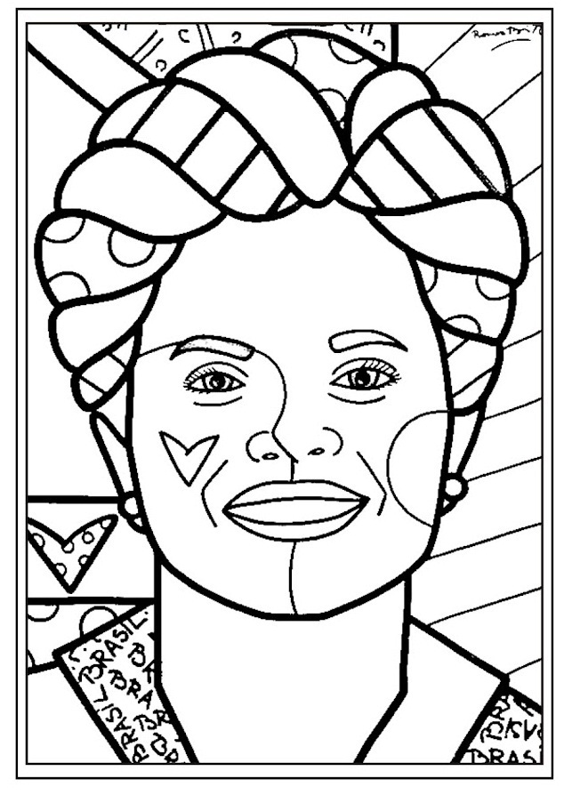 dilma elogia coloring pages - photo#29