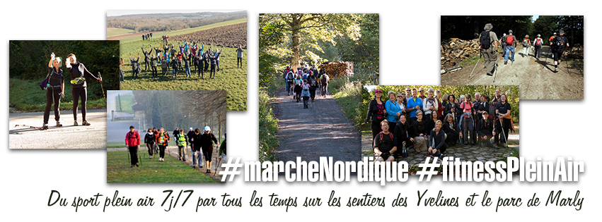 Marche Nordique & Fitness plein air / Marly-le-roi
