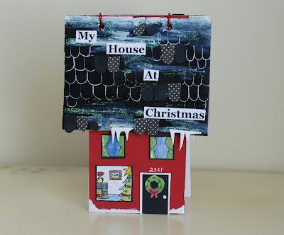 как сделать новогодний домик