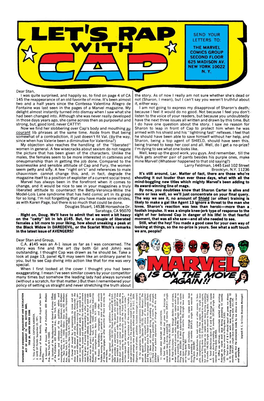 Captain America (1968) Issue #149 #63 - English 23