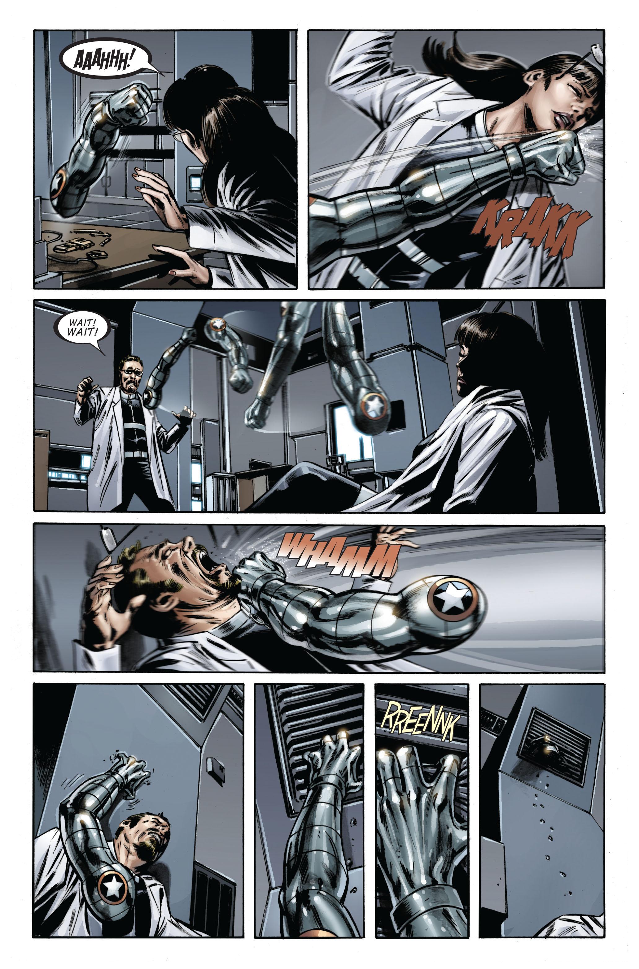 Captain America (2005) Issue #33 #33 - English 6