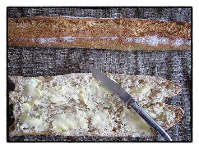 A la flute gana, my favourite baguette in Paris. pic kerstin rodgers