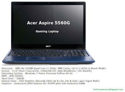 Acer Aspire 5560G