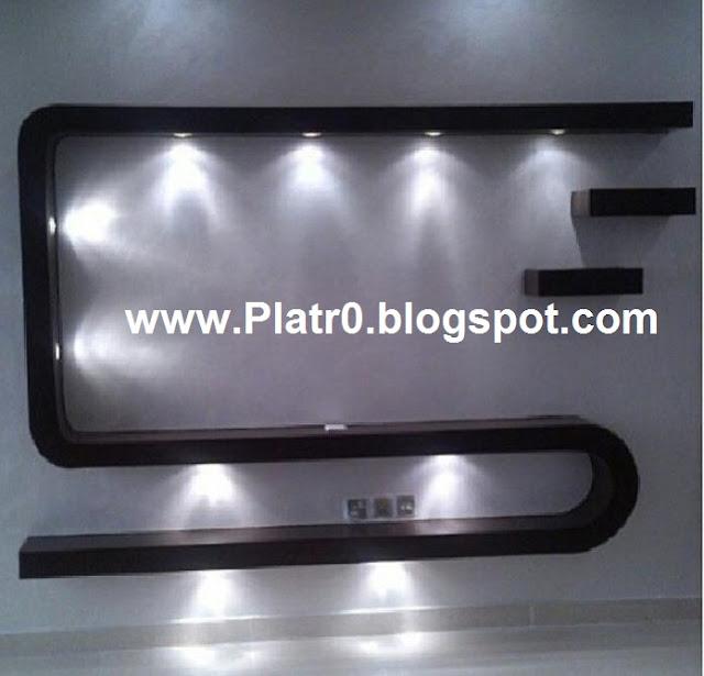 Decoration ba13 tv for Decoration platre b13